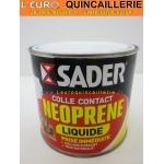 Colle néoprène Liquide SADER pot 500ml