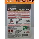 Colle PVC sader tube 55ml mode demploi