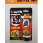 Colle fixer sans percer SADER tube 55ml