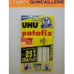 Patafix 80 pastilles adhésives Blanches