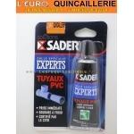 Colle Tuyaux PVC prise rapide Sader tube 55ml
