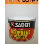 Colle néoprène Liquide SADER Pot 250ml