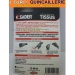 Colle spécial Tissus sader tube 40ml mode demploi