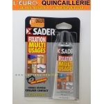 Fixation multi usages prise immédiate SADER tube 55ml