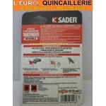 Colle Contact Invisible type Néoprene Liquide Sader tube 55ml mode demploi