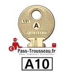 10 Clés A pass ptt A10