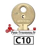 10 Clés C pass ptt C10