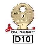 La clé D10 pass ptt 4sur21