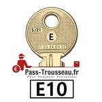 10 Clés E pass ptt E10
