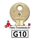 La clé G10 pass ptt 7sur21