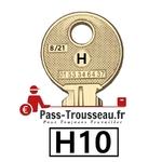 La clé H10 pass ptt 8sur21