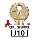 La clé J10 pass ptt 10sur21