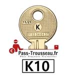 La clé K10 pass ptt 11sur21