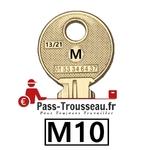 10 Clés M pass ptt M10