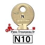 10 Clés N pass ptt N10