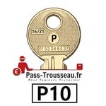 10 Clés P pass ptt P10