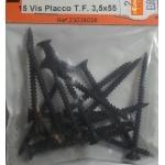 15 VIS PLACCO TETE FRAISEE 3.5x55mm