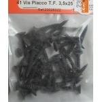 41 VIS PLACCO TETE FRAISEE 3.5x25mm