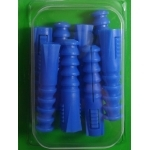 8 Chevilles bleues Ø 10mm pour vis de 6 A 8mm
