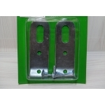 2 ATTACHES DETAGERE 60x20mm