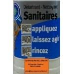 Détartrant - Nettoyant sanitaires