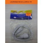 Rallonge électrique simple 2 mètres blanc