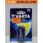 PILE 9V.  Varta High VARTA Alkaline High Energy