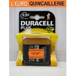 Pile 4,5V. Duracell Plus Power alkaline