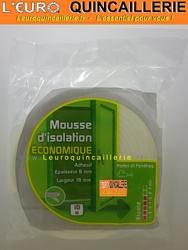 JOINT MOUSSE ISOLATION ADHESIF 19MM