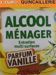 ALCOOL MENAGER VANILLE