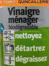 VINAIGRE MENAGER BIODEGRADABLE
