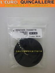 Bouchon plus chainette 55-60