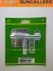 Verrou porte cadenas pour box 10mm