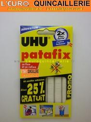 PATAFIX UHU BLANCHE 80 pastilles