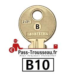 La clé B10 pass ptt 2sur21