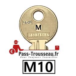 La clé M10 pass ptt 13sur21