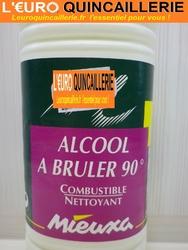 ALCOOL A BRULER 90° 1LITRE