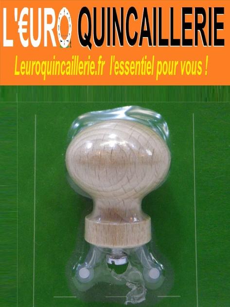 1 bouton de meuble bois 35mm quincaillerie bouton de for Quincaillerie assemblage meuble bois