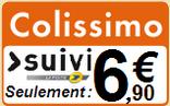frais de livraison colissimo 6.90€