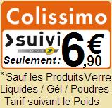 frais de livraison colissimo 6.90€ sauf liquide poudre gél et verre