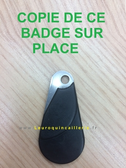 Reproduction badge Paris moins cher