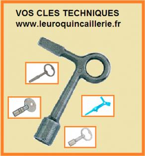 clés techniques leuroquincaillerie.fr