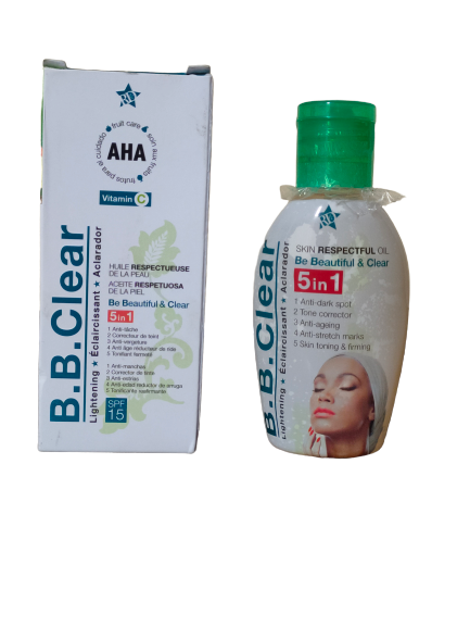 BB CLEAR HUILE ECLAIRCISSANTE AUX ACIDES DE FRUITS 60 ML