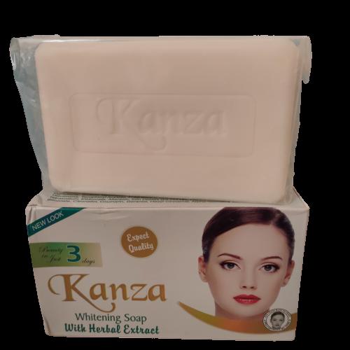 KANZA SAVON BLANCHISSANT GLUTATHION AUX PLANTES 250 G