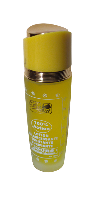BEL ECLAT METISSE LOTION ECLAIRCISSANTE EXTRA FORTE 100 ML VISIBLE 7 JOURS