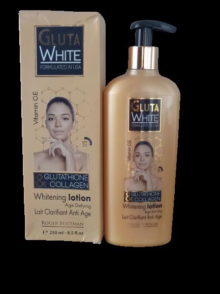 GLUTA WHITE LAIT ECLAIRCISSANT GLUTATHIONE & COLLAGEN 250 ML
