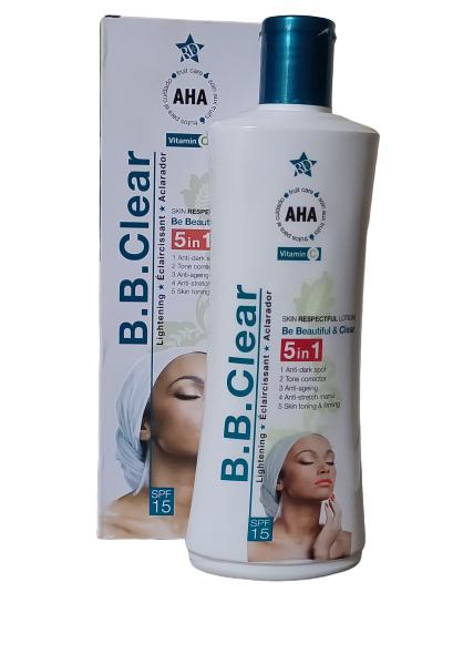 BB CLEAR LAIT ECLAIRCISSANT AUX ACIDES DE FRUITS 300 ML ANTI TACHE