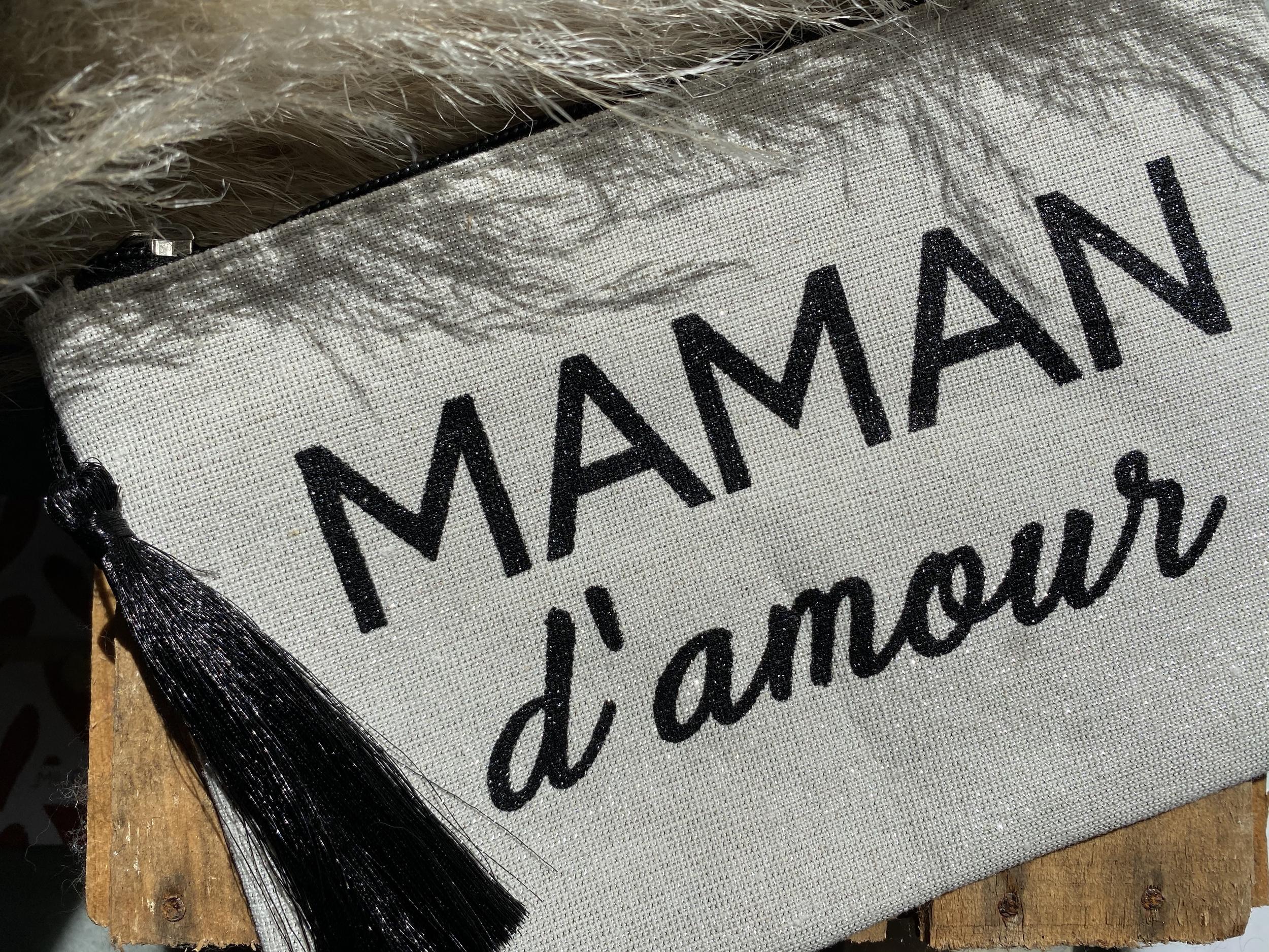 Pochette MAMAN d\'amour (grande)