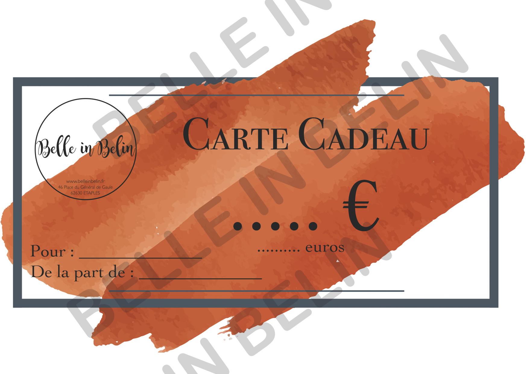 CARTE CADEAU 2020 INTERNET