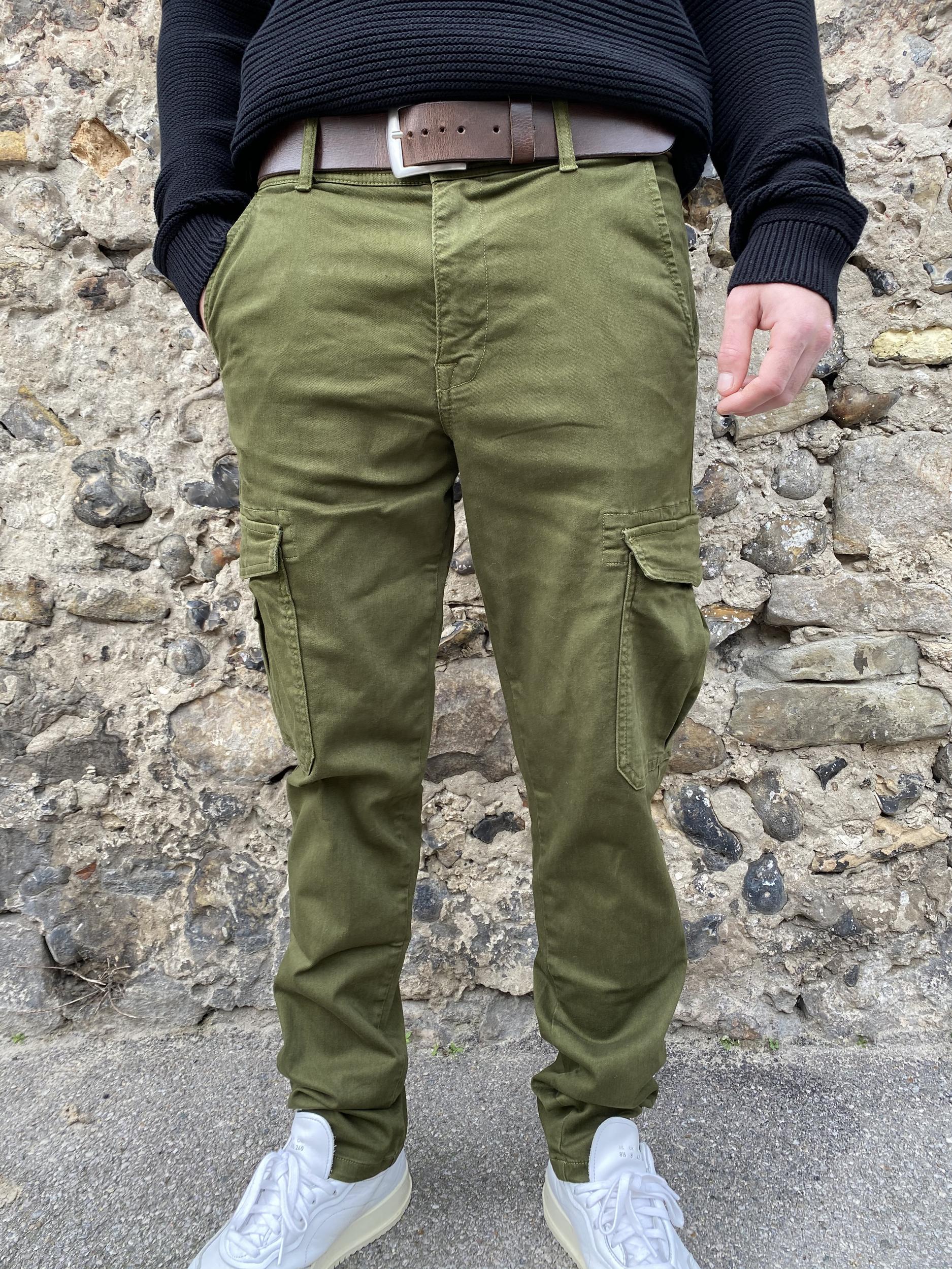 Pantalon cargos Jackson Kaki